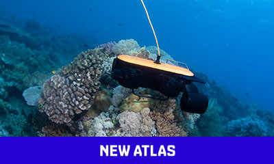 Titan underwater drone runs deeper than most